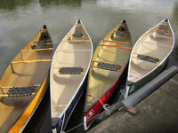 2014 & 2015 Demo & Daily rental Kevlar Canoe Clearout