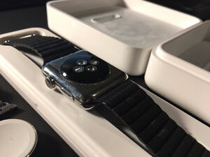 42mm Apple Watch Stainless Steel Case with AppleCare+ Kitchener / Waterloo Kitchener Area image 4