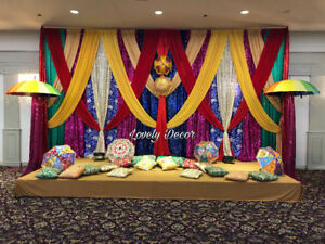 """Customize home ,tent&ladysangeet decoration by """"lovely decor"""""""