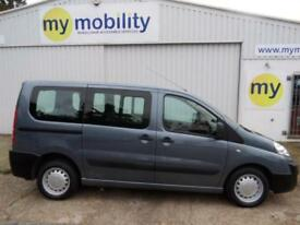 Peugeot Expert Tepee Wheelchair Scooter Accessible Disabled WAV MPV