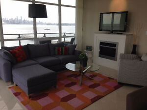 2 Bedroom 2 Full Bath Waterfront in North Vancouver June 1