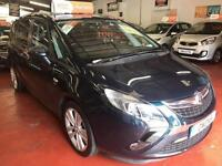 2014 (64) VAUXHALL ZAFIRA TOURER 2.0 SRI CDTI 5DR Manual