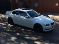 2007 E92 BMW 3-Series 328i M Package Coupe White