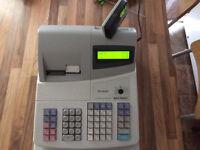 Cash register till sharp xe-a301