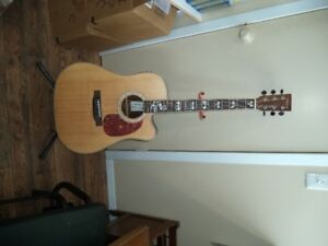 Phantom acoustic/  electric guitar brand new handemade