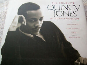THE COMPLETE QUINCY JONES / SIGNED / 1ST EDITION