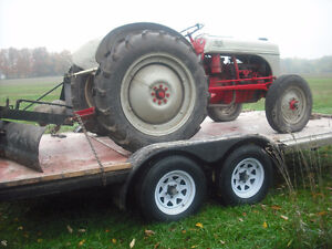 Trailer, tractor and blade for sale