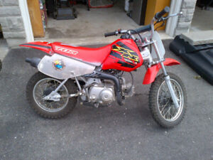 2000 Honda XR 70 - with ownership