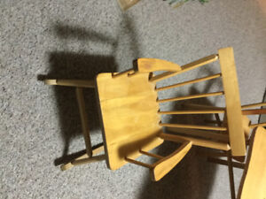 Kids Wooden Rocking Chair