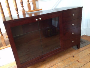 Contemporary Dining Room Side Hutch