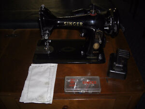 1957 Singer 99 Sewing Machine, with Desk