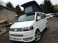 VW TRANSPORTER T5 1.9 TD POP TOP 4 BERTH NEW CONVERSION 6 SEATER CAMPERVAN
