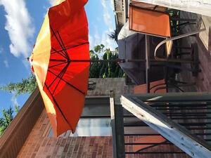 Umbrella and Stand
