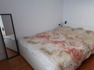 Furnished apartment in downtown Montreal