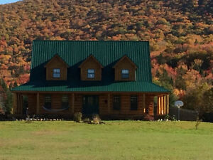 Margaree Log Home