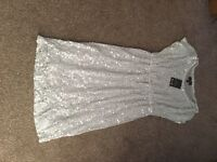 Size 12 sequin maternity dress
