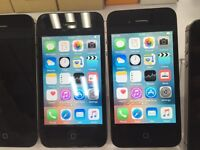 iPhone 4S 8GB, 16GB and 32GB unlocked to any network, white and black colour, excellent conditions