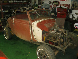 1935 Ford Cabriolet Project 99% Complete with Extra's