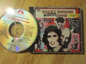 THE ROCKY HORROR PICTURE SHOW CD Music Soundtrack 1989 Vintage
