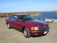 German import: 1991 Mercedes-Benz 500-Series Coupe (2 door)