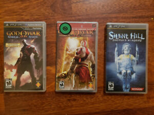 God of War and Silent Hill PSP Games