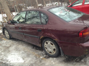2000 Subaru Legacy (Parts car, Derby car)