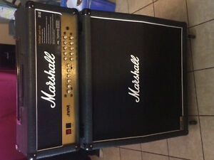 Marshall jvm205h and 1960a cab!