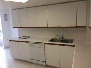 Used Kitchen with stove and Dishwasher