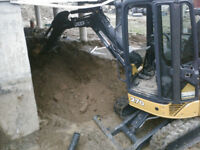 Mini Excavator for hire