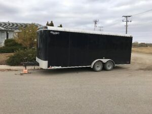 MUST GO !!!! 2015 20 FOOT ENCLOSED TRAILER ** PRICE REDUCED
