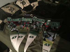 Saskatchewan Roughriders Game Day Pennants