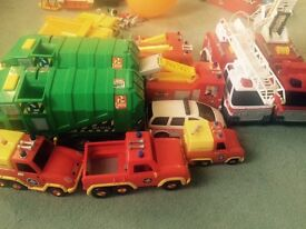 Fireman Sam trucks and selection of toys buy individually or lot