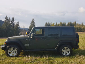 Factory Ordered Jeep Wrangler