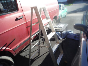 Aluminum Step Ladders 5 foot and 6 foot
