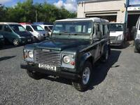 Land Rover 110 Defender 2.5TDi County TDi 12 seater