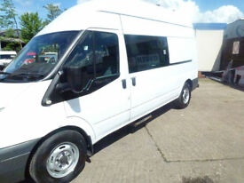 Ford Transit 2.4TDCi Duratorq ( 115PS ) LWB 2007 welfare van ideal camper