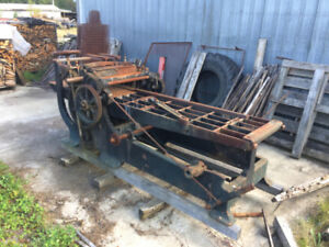 Raboteuse 3 faces -- 3 Side Planer