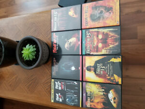 Friday the 13th movies 1-9