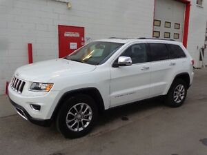 2014 Jeep Grand Cherokee Limited 4x4 ~ 65,000kms ~ $29,999