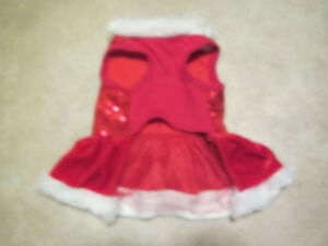 Holiday/Christmas dog dress with sequins Cambridge Kitchener Area image 2