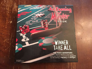 An Evening of Murder Party Game - 8 players