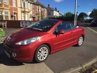 Peugeot 207cc full service history 42000 miles REDUCED