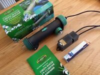 Blagdon UV clarifier (UVC) and 9w uv bulb for goldfish or koi pond