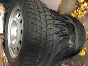 Winter tire package for sale