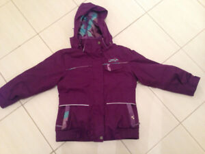 Girls size 7 XMTN winter jacket coat