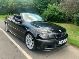 image for 2003 53 REG 320ci SPORT, AUTOMATIC CONVERTIBLE, ONE PREVIOUS OWNER, BLACK