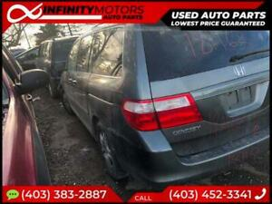 2006 HONDA ODYSSEY TOURING FOR PARTS PARTING OUT CARS CAR PARTS