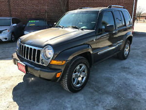 2006 JEEP LIBERTY 4X4  LIMITED FULLY LOADED