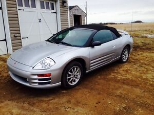 **2001 MITSUBISHI ECLIPSE GS SPYDER CONVERTIBLE**