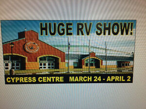 RV SALE CYPRESS CENTRE March 28-April 2